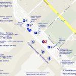 Схема парковок Внуково