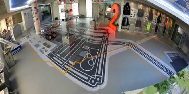 схема экспозиции музея