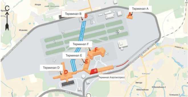 схема терминала В