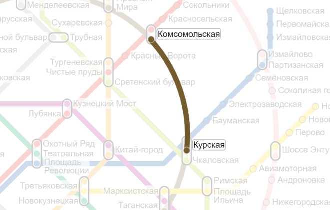 Комсомольская-Курская