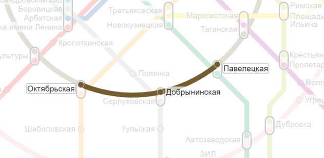 павелецкая-октябрьская