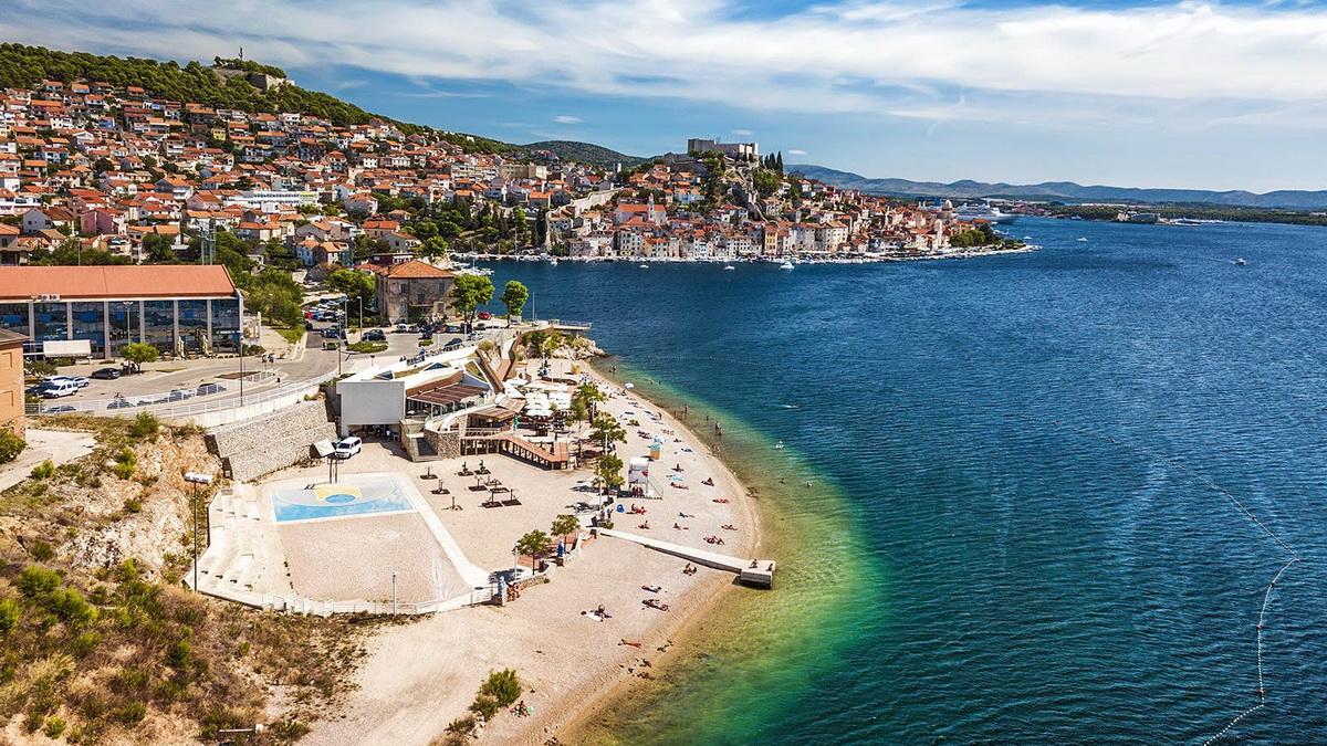 Хорватский курорт Шибеник